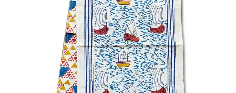 Harbor Boat Table Runner