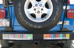 ACK beach stickers